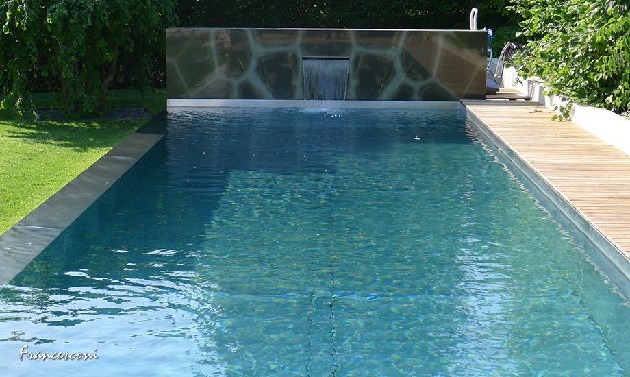 schwimmbecken und pools aus hochwertigem edelstahl villa klu. Black Bedroom Furniture Sets. Home Design Ideas
